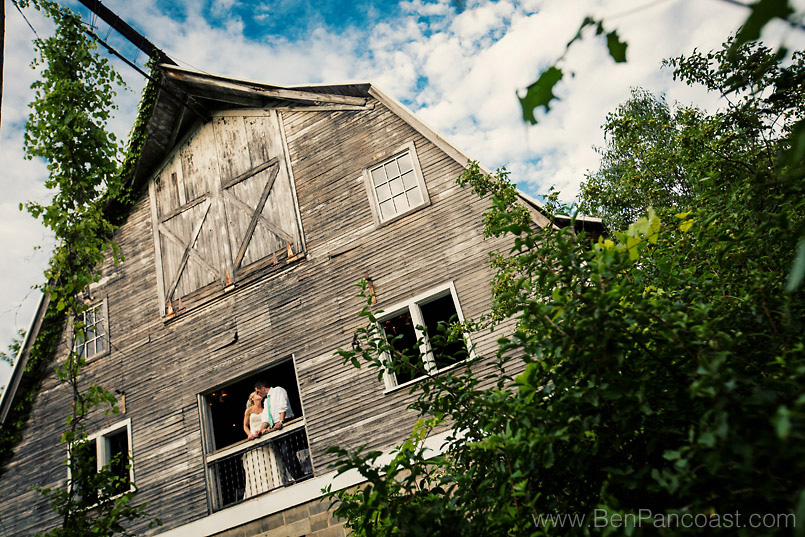 This Blue Dress Barn wedding picture is one of my favorites from Tany and Patricks country wedding at the Barn in Millburg Michigan.