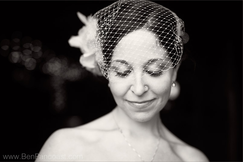 Bridal Portrait at Snow Moon Ranch