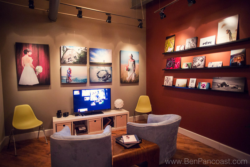 Ben Pancoast Photography Studio Meeting Area