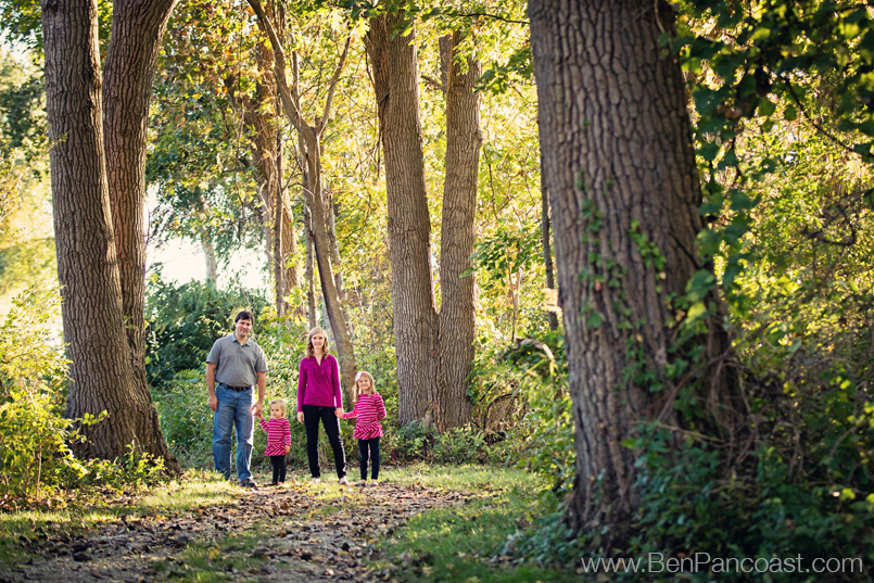 Family portraits in the fall, Saint Joseph Mi