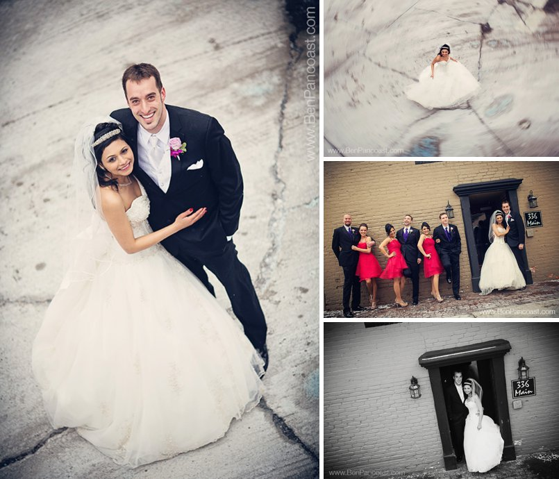 Contemporary wedding Photos in Plymouth Michigan
