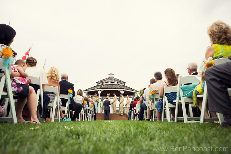 Windmill Island Wedding Ceremony