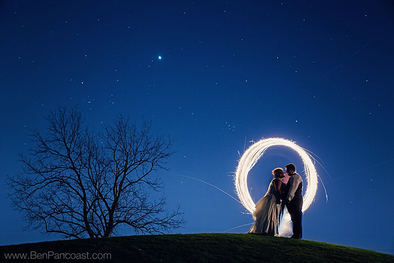 Sparkler photos in Grand Rapids Michigan.
